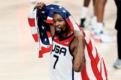 Tokyo 2020. Kevin Durant, basket-ball ©Stéphane...