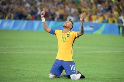 Rio 2016. Neymar Jr, football © Alain Mounic/L'Équipe...