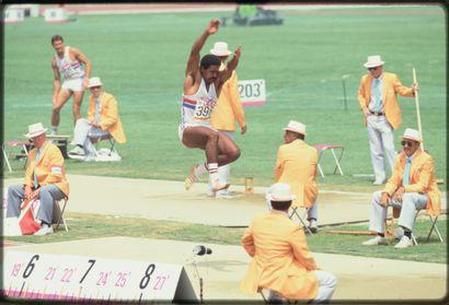Los Angeles 1984. Daley Thompson, décathlon...