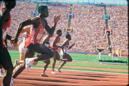 Los Angeles 1984. Carl Lewis, 100m © André...