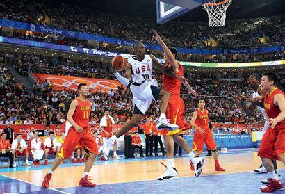 Pékin 2008. Kobe Bryant, basket-ball © Alain...