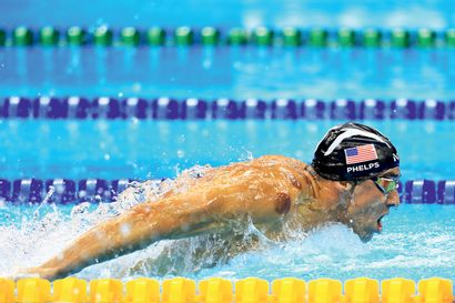 Rio 2016. Michael Phelps, natation © Franck...