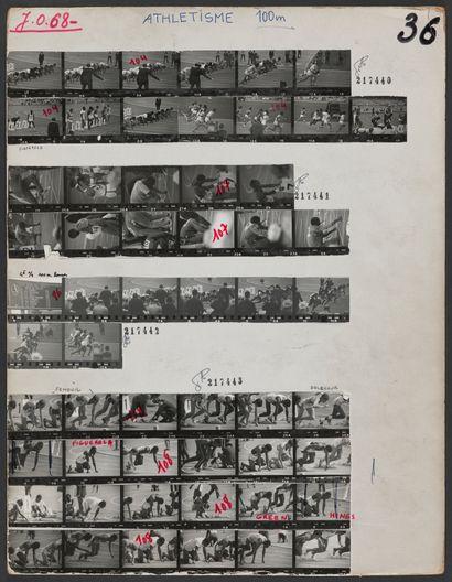JO 1968 © André Lecoq et Robert Legros /L'Équipe...