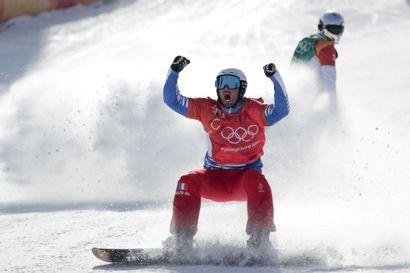 Pyeongchang 2018. Pierre Vaultier, snowboard...