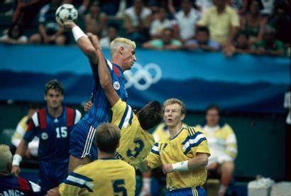 Barcelone 1992. Frédéric Volle, handball...