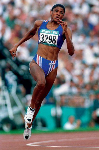Atlanta 1996. Marie-José Pérec, 200m © Didier...