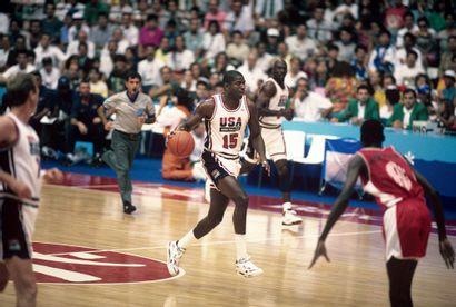Barcelone 1992. Magic Johnson, Michael Jordan,...