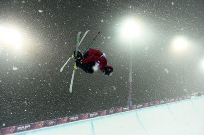 Sotchi 2014. Kevin Rolland, ski freestyle...