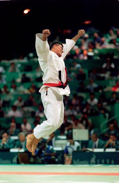 Atlanta 1996. David Douillet, judo © Alain...