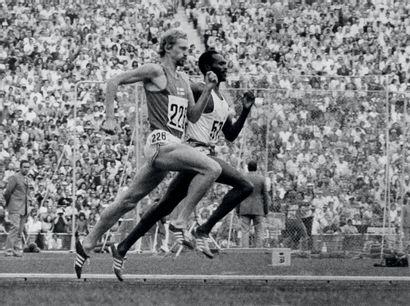 Munich 1972. Vasala, Kip Keino, 1500m © Robert...