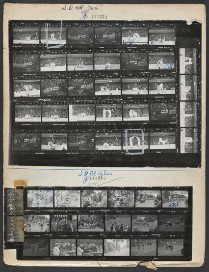 JO 1964 © L'Équipe Tokyo 1964. Finale du tournoi de judo toutes catégories. Victoire...