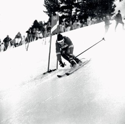 Grenoble 1968. Jean-Claude Killy, ski alpin...