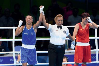 Rio 2016. Estelle Mossely, boxe © Alain Mounic/L'Équipe 19 août 2016. C'est l'anniversaire...