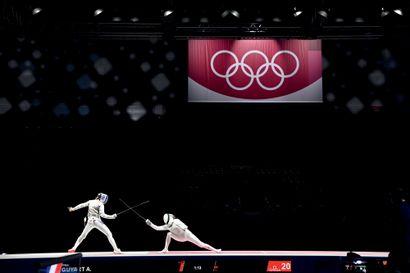 Tokyo 2020. Finale France-Russie (Guyart-Martyanova),...