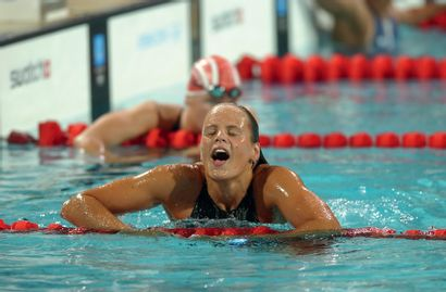 Athènes 2004. Laure Manaudou, natation ©...