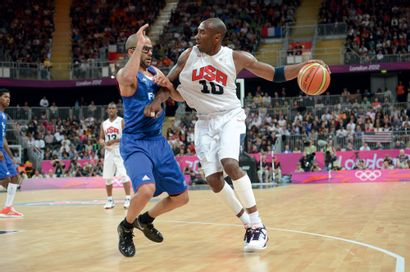 Londres 2012. Tony Parker-Kobe Bryant, basket-ball...