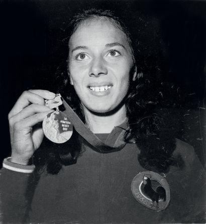 Mexico 1968. Colette Besson, 400m © André...