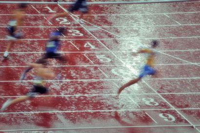 Pékin 2008. Décathlon © Pascal Rondeau/L'Équipe...
