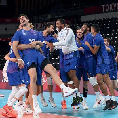 Tokyo 2020. Équipe de France, volley-ball...