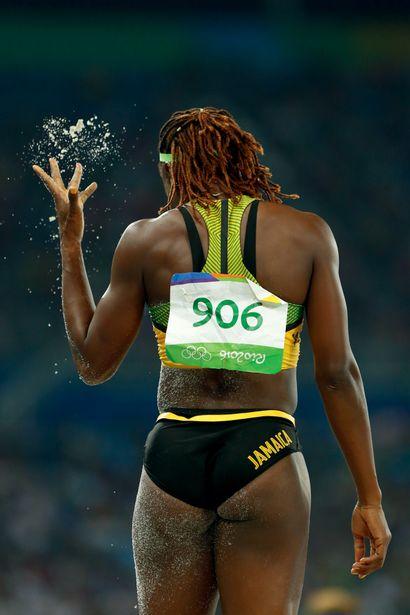 Rio 2016. Kimberley Williams, triple saut...