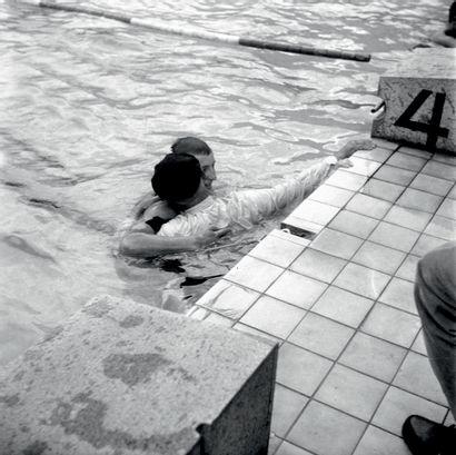 Helsinki 1952. Jean et Gaston Boiteux, natation...