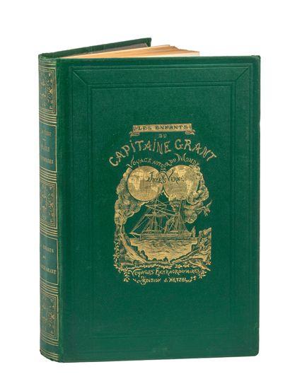 [Les Tours du Monde] Les Enfants du capitaine Grant par Jules Verne. Illustrations...