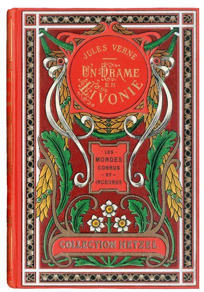 [Europe] Un drame en Livonie par Jules Verne....