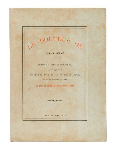 [Flandres] Le Docteur Ox par Jules Verne....