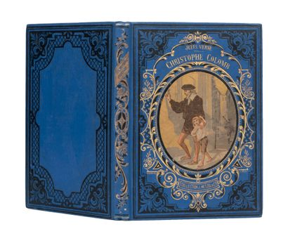 Christophe Colomb par Jules Verne. Illustrations...