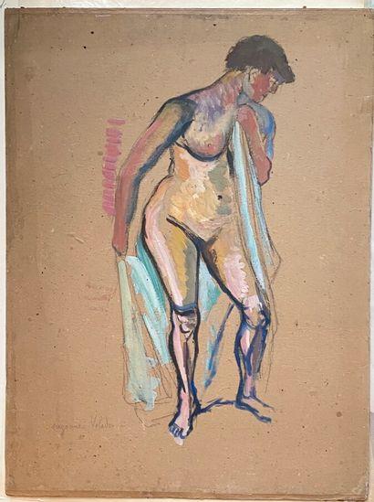 Suzanne VALADON (1865-1938)  Femme nue avec...