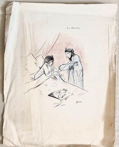 Jean-Louis FORAIN (1852-1931)  Les mamans...