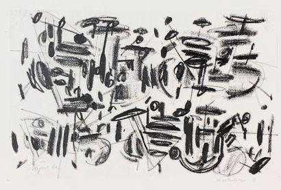 Ladislas KIJNO ( 1921-2012)  Revolution O...