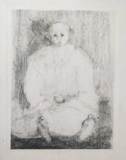 Pierre TAL COAT (1905-1985)  Enfant malade...