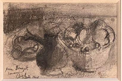 Youla CHAPOVAL (1919-1951)  Nature morte,...
