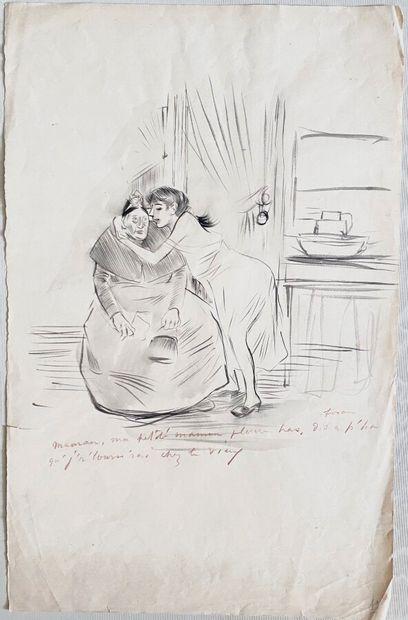 Jean-Louis FORAIN (1852-1931)  Maman , ma...