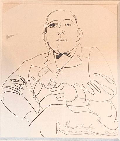 Raoul DUFY (1877-1953)  Portrait de Robert...