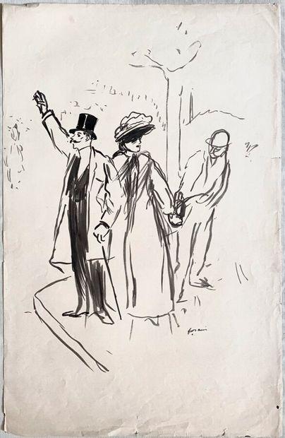 Jean-Louis FORAIN (1852-1931)  Le maquereau...