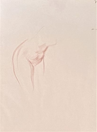 Jean-Louis FORAIN (1852-1931)  Nus  2 sanguines...