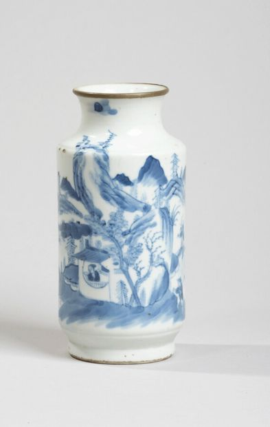 VIETNAM, Hue - XVIIIe/XIXe siècle - Vase...