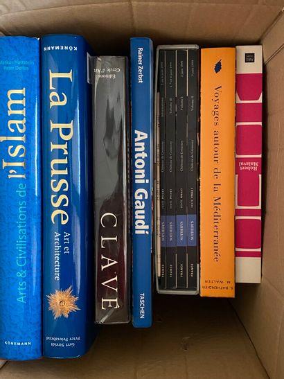 Lot de livres d'art