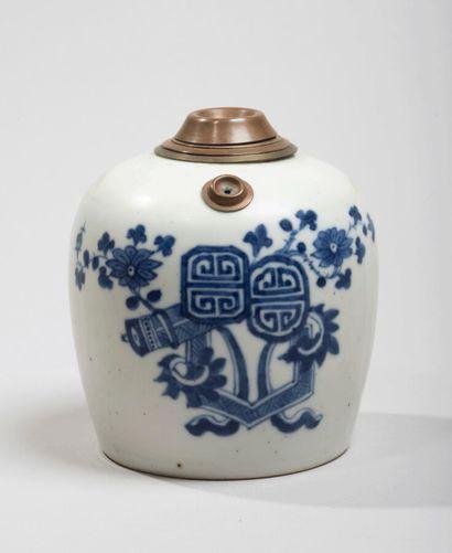 VIETNAM, Hue - XIXe siècle - Pipe à eau en...
