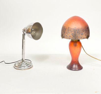 Lot de deux lampes modernes