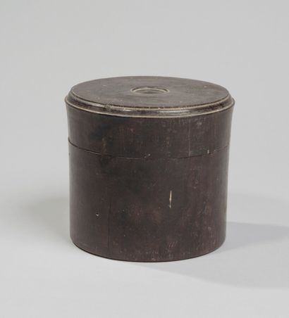 CHINE - Vers 1900 - Boîte à bétel de forme...