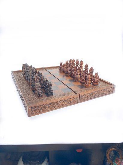 Jeu d'échecs indonésien