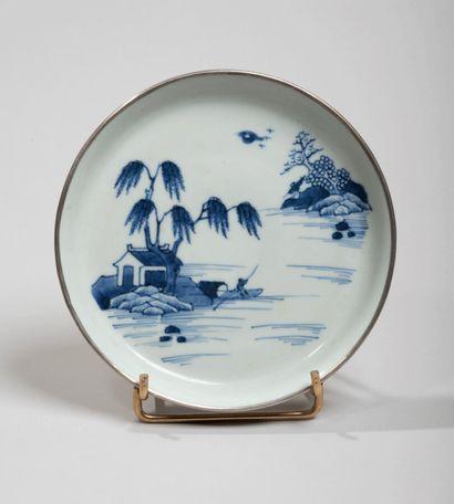 VIETNAM- XVIIIe/XIXe siècle - Coupe en porcelaine...