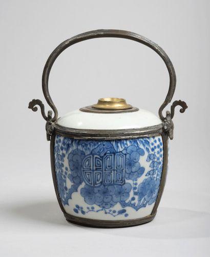 VIETNAM, Hue - XIXe siècle-Pipe à eau en...