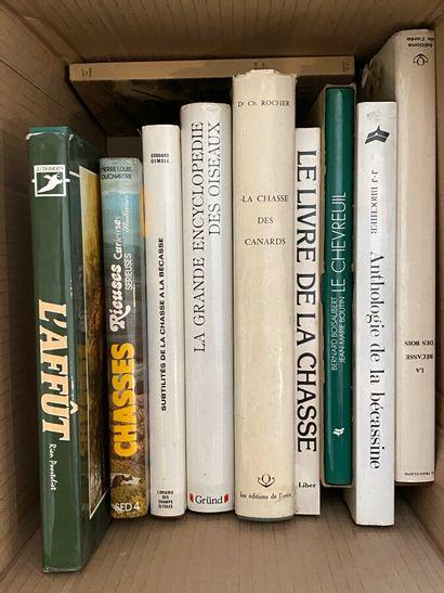 Lot de livres sur la chasse