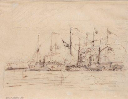 ANTOINE LÉON MOREL-FATIO (1810 - 1871) h