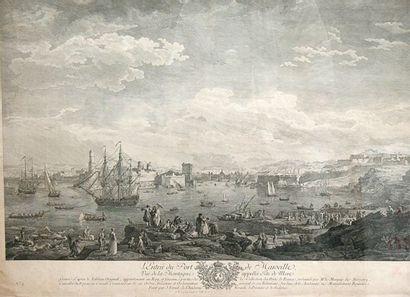 Gravure d'après Vernet - 1764