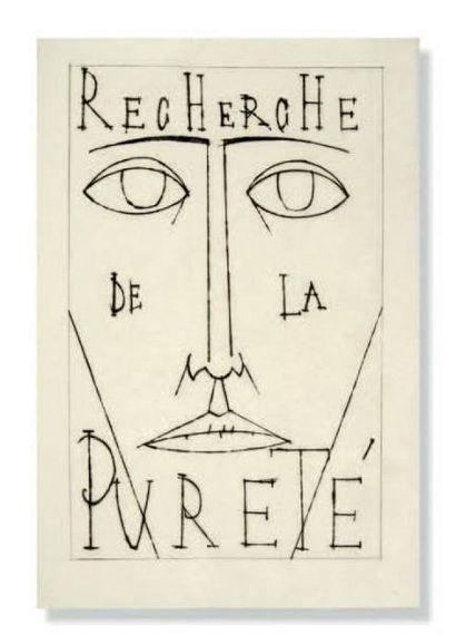 BUFFET - Jean Giono Recherche de la pureté,...